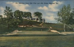 Hershey Park Golf Club and 18th Green Postcard