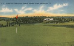 Forest Park Golf Course, Looking From No. 1 Tee Postcard