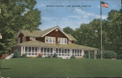 Marion Country Club Postcard