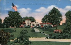 Club House at Beverly Shores Postcard