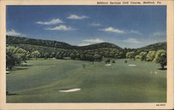 Bedford Springs Golf Course