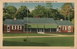 7-24 Glen Arven Country Club Postcard
