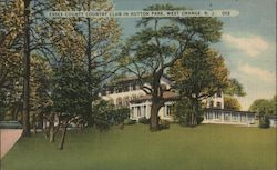 Essex Couny Country Club in Hutton Park Postcard