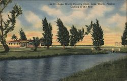 Lake Worth Country Club - Golfing at its Best Postcard