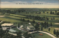 Aerial View of Country Club