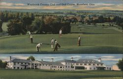 Westbrook Country Club and Golf Course Postcard