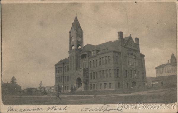 Clarke County Court House Vancouver Washington