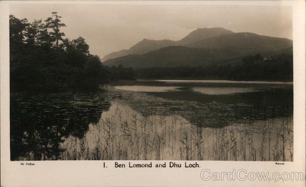 1. Ben Lomand and Dhu Loch Scotland