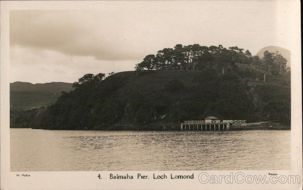 4. Balmaha Pier, Loch Lomond UK