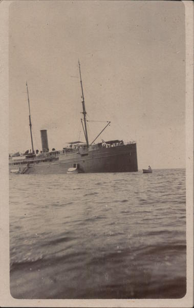 S.S. City of Para, Pacific Mail Steamer San Francisco California