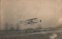 Glenn Curtiss Biplane at the Fairgrounds