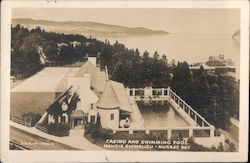 Casino and Swimming Pool, Manoir Richelieu - Murray Bay Postcard
