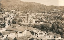 Panorama of Taxco Postcard