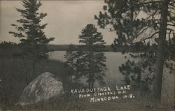 Kauaquesaga Lake from Clausen's Hill