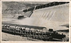 Toonerville Trolley at the Grand Coulee Dam