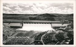 Grand Coulee Dam from Crown Point