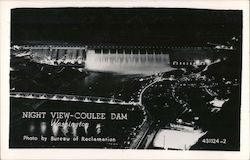 Night View -- Coulee Dam, Washington