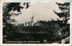 State Capitol Building from West Olympia