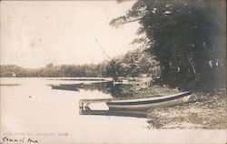 Lake Attatish Postcard