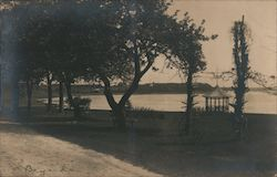 Osterville, Shore Park with Benches and Gazebo