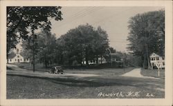 Street Scene in Acworth Postcard