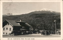 Mt Washington from the Glen House Postcard