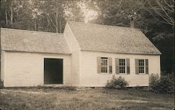 Unidentified White School House
