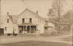 Birthplace of Pres Coolidge Postcard