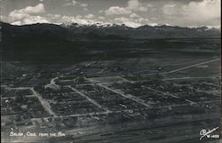 Salida, Colorado from the Air