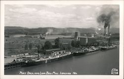 Port Dock and Long Bell Lumber Mill