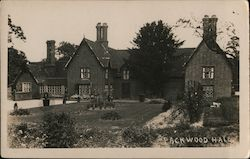 Packwood Hall Postcard