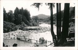 Rio Nido Beach on the Russian River