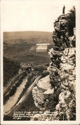 Lover's Leap and The Narrows Postcard