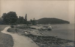 Balance Rock, Shore Path Postcard