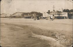 The Bathing Beach Postcard