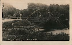 Wagon Bridge over Wapsie River