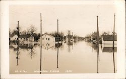 Flooded Town, 1950