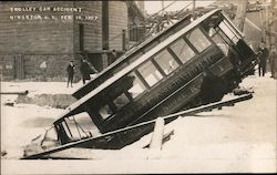 Trolley Car Accident - Feb 10, 1907