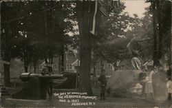 The Herkimer Monument, The Day of Unveiling Aug. 6, 1907 Postcard
