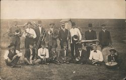 Group of Men with Musical Instruments