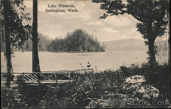 Lake Whatcom Bellingham Washington