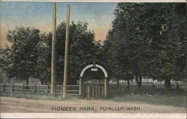 Pioneer Park Puyallup Washington