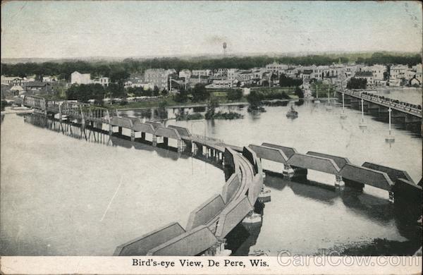 Bird's Eye View De Pere Wisconsin