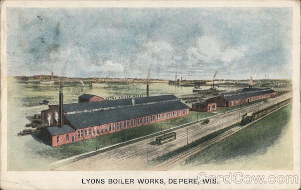 Lyons Boiler Works De Pere Wisconsin
