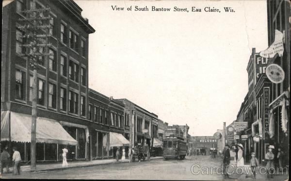View of South Barstow Street Eau Claire Wisconsin