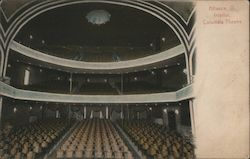 Interior of Columbia Theatre