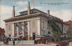 Salt Lake Theatre, Built by Brigham Young