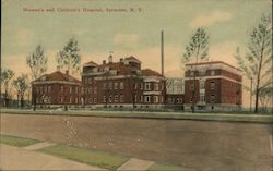 Women's and Children's Hospital Postcard