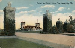 Entrance and Shelter, Swope Park