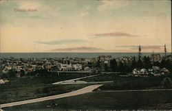 View of Everett Looking Toward Waterfront Postcard